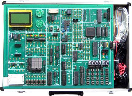 通过选配eda扩展卡,实现eda和单片机两合一,可分别控制实验电路.