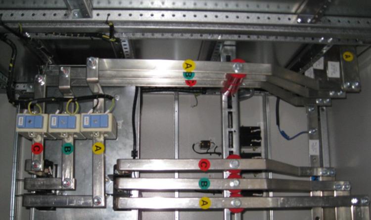 无功补偿电容器,自动补偿控制器的接线