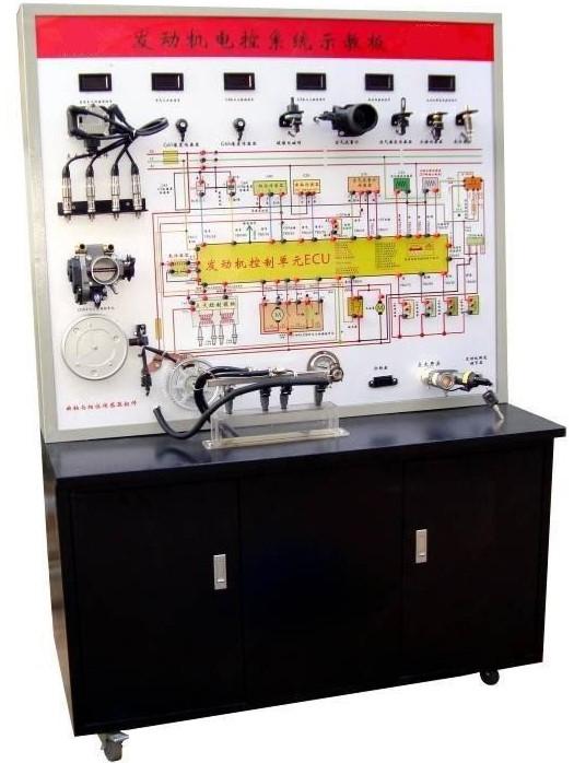 发动机点火与喷射系统考核装置(桑塔纳2000)汽车电路