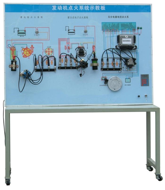 2,分为蓄电池点火系统,霍尔效应无触点点火系统以及无分电器