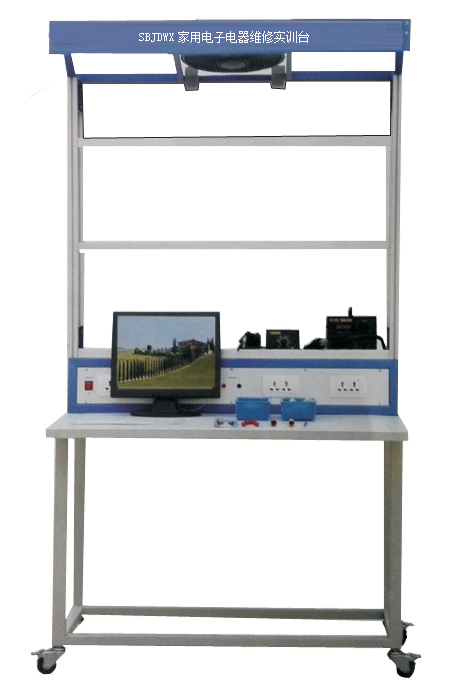 经济性:本实验台装有电风扇,照明日光灯,看板(用来夹以仿真电路生产
